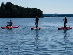 Water Cycle Sövde lake