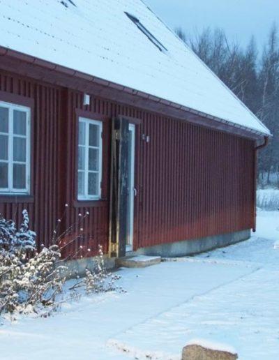Winter, The Meadow Barn